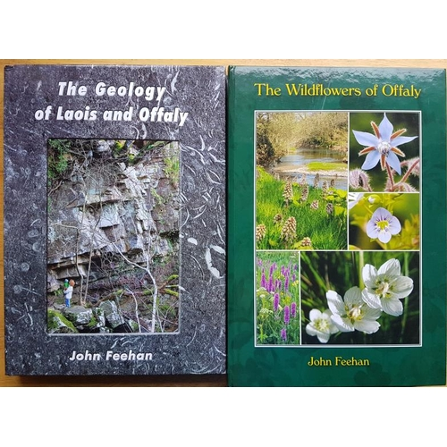 23 - John Feehan, <em>The Geology of Laois and Offaly</em> (2013);<em> The Wildflowers of Offaly</em> (20...
