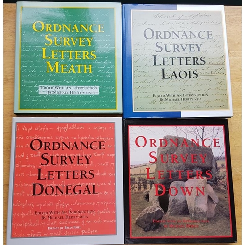 40 - <em>Modern Ordnance Survey Letters</em> in very good condition with dust wrappers for Meath, Donegal...