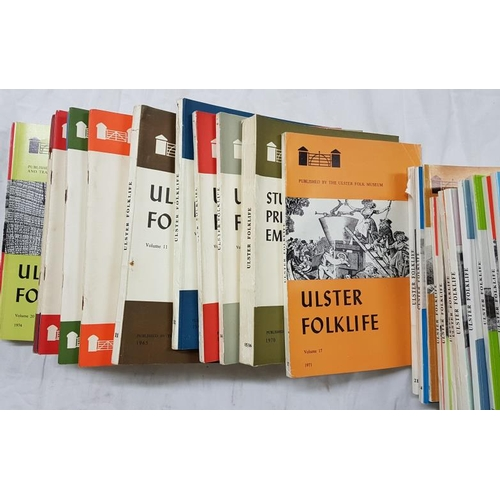 6 - Evans, E. Estyn. Bell, Jonathan and Others. Edited by. <em>Ulster Folklife</em>. Volume I 1955 - Vol...