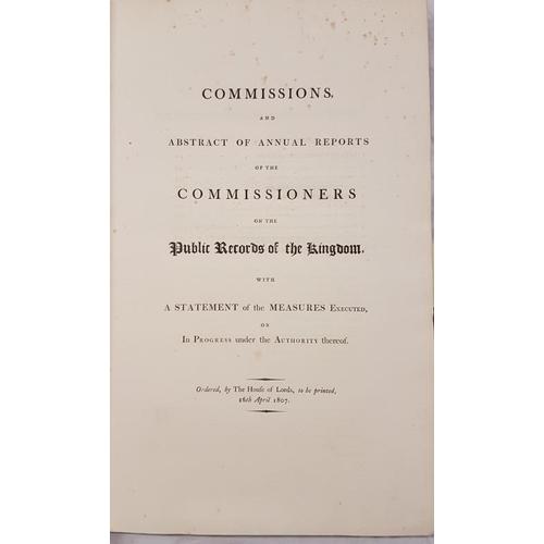 8 - <em>Records Commission 1800-1809</em>, Folio...