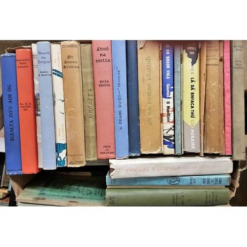13 - Collection of <em>Irish Language</em> Books, c.40 volumes...