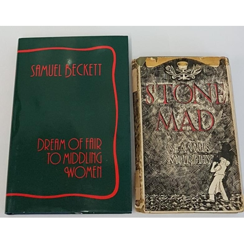 20 - Samuel Beckett '<em>Dream of Fair to Middling Women'</em> 1992. 1st Edition; and Seamus Murphy '<em>...