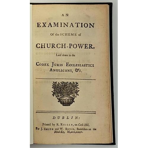 25 - <em>An Examination of the Scheme of Church-Power</em>: laid down in the Codex Juris Ecclesiastici An...