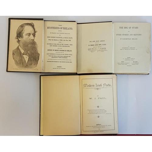 27 - <em>'The Mysteries of Ireland</em>' c. 1888; Standish O'Grady '<em>The Bog of Stars</em>' 1893 1st e...