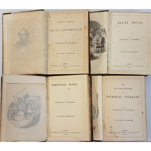 32 - Charles Dickens '<em>Bleak House</em>'; '<em>David Copperfield'; 'Nicholas Nickleby'</em>; and <em>'...