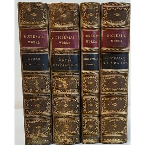 32 - Charles Dickens '<em>Bleak House</em>'; '<em>David Copperfield'; 'Nicholas Nickleby'</em>; and <em>'...