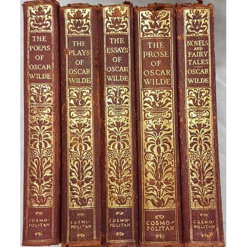 37 - Wilde, Oscar. <em>Essays Poems and Novels</em>. Five volumes....
