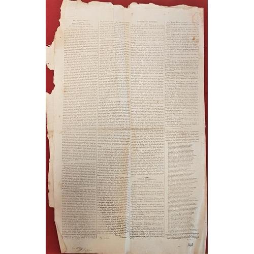636 - Dublin newspaper<em> The Correspondent</em> Feb 1811....