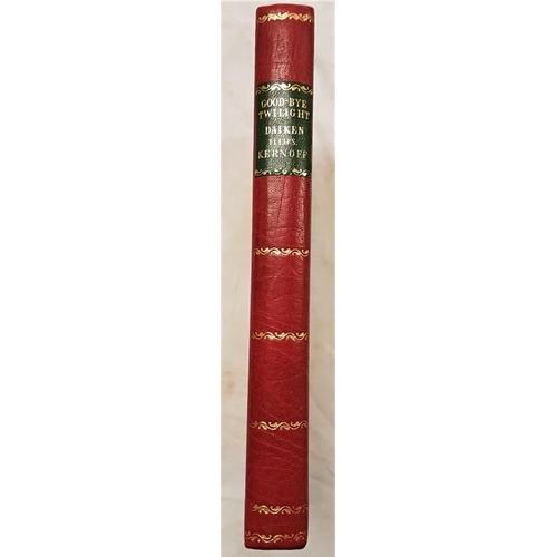 645 - Daiken, Leslie H. <em>Good-bye Twilight</em>. Woodcuts by Harry Kernoff...