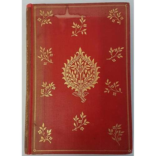 653 - William Morris '<em>The Earthly Paradise – A Poem</em>' 1890. Gilt pictorial cloth designed by...