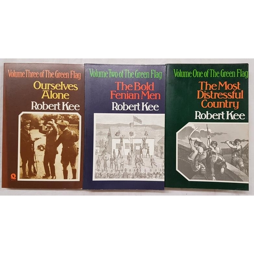 654 - Kee, Robert.<em> The Green Flag.</em> Three volumes....