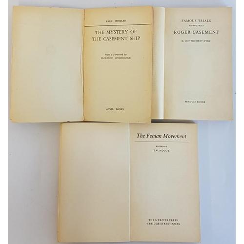 657 - <em>'The Mystery of the Casement Ship'</em> 1965 with ephemera, <em>Famous Trials-Casement</em> by H...