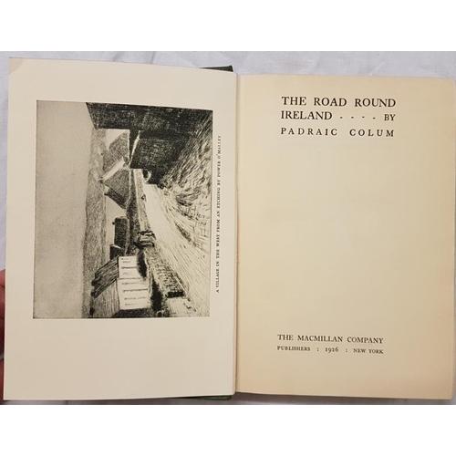 667 - Colum, Padraic.<em> The Road Round Ireland,</em> 1926...
