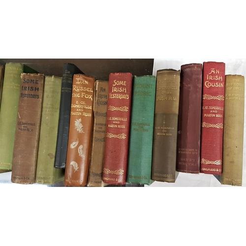 674 - Somerville and Ross. <em>The Works.</em> Twenty two volumes...