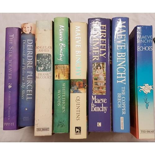 678 - <em>Binchy, Maeve / Purcell / Warnock</em>. Eight volumes....