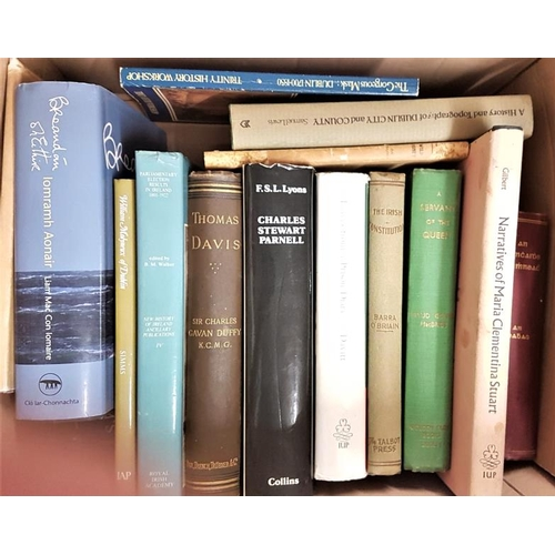 681 - Books on <em>Irish History and Literature</em> - a box...