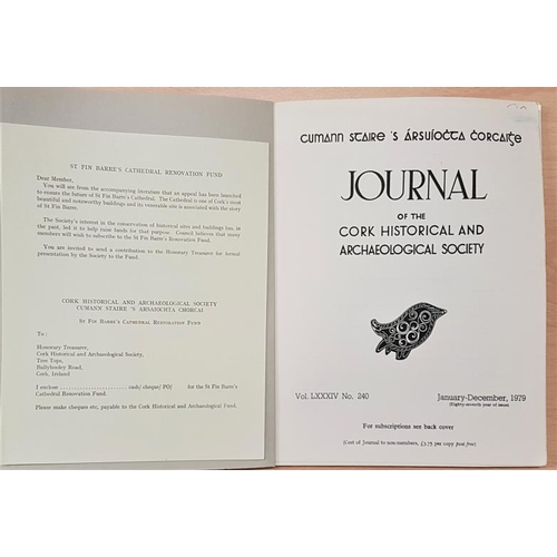 684 - <em>Cork Archaeological and Historical Journal</em>. Early to modern issues. Circa 78 journals. Good...