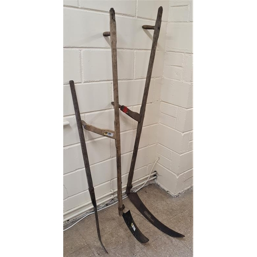 5 - Two Scythes and a Slash Hook (3)...