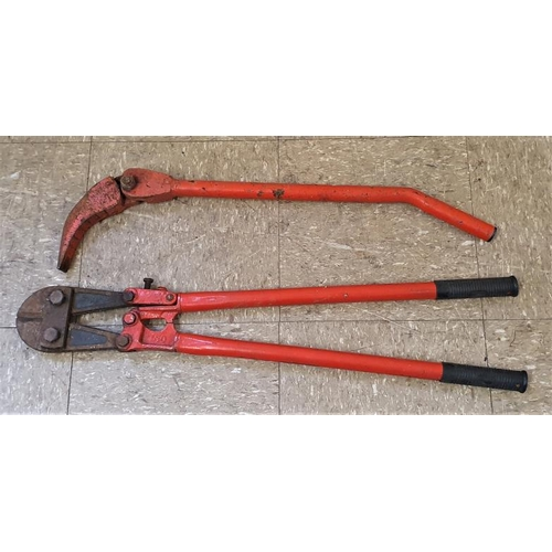 9 - 30 Inch Bolt Cutter and a Lever Tool (2)...