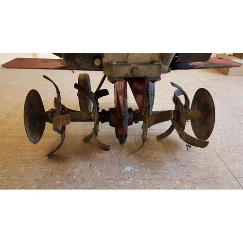 17 - Mountfield Manor 5R Garden Rotavator with Briggs & Stratton 5HP Engine...