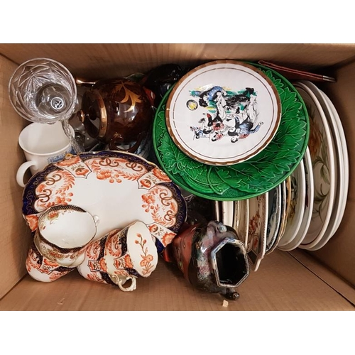 23 - Box of Various Ceramics...