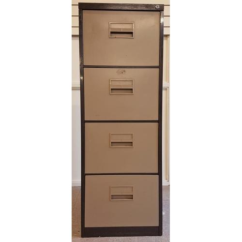 45 - Four Drawer Filing Cabinet (no key)...