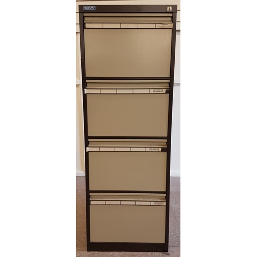 46 - Parsons Four Drawer Filing Cabinet (with key)...
