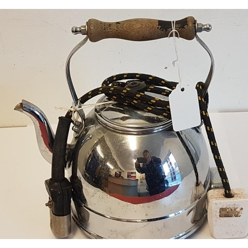 115 - Old Chrome Electric Kettle...