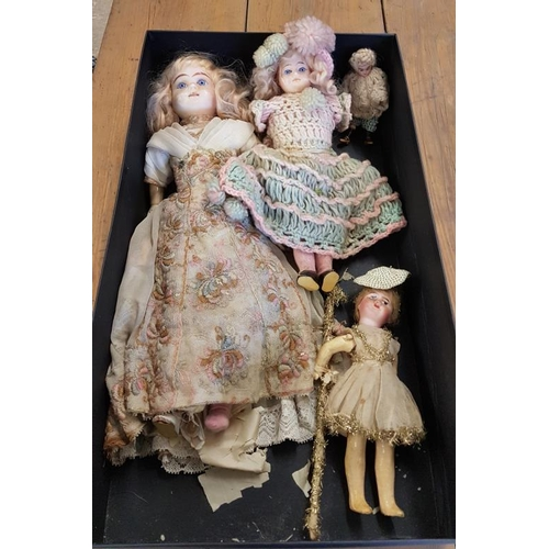 134 - Four Dolls...