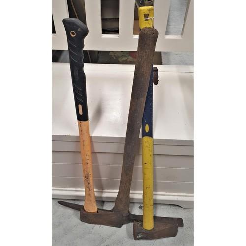 6 - Axe, Log Splitter and a Pick...