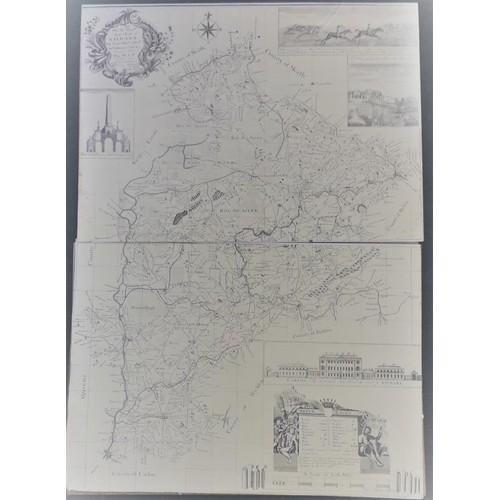 7 - Set of Eight Maps of <em>Kildare</em> County...