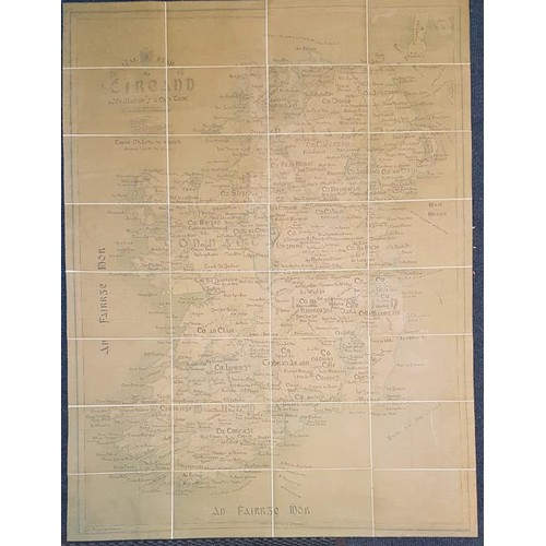10 - Map of Ireland in Slipcase...