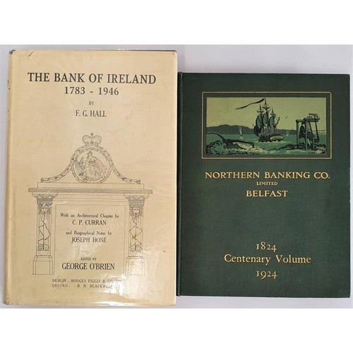 11 - E.D. Hill. <em>The Northern Banking Co., Ltd</em>., 1925. 1st edit. Fine coloured illustrations. Gil...