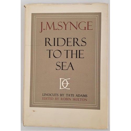 13 - John M. Synge. <em>Riders To The Sea</em>. 1969. Dolmen Press. Limited edition. Five coloured illust...