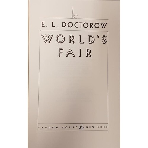 "33 - <em>'Worlds Fair'</em> by E.L. Doctorow. Signed and inscribed by the author ""To Ray Carver wit..."