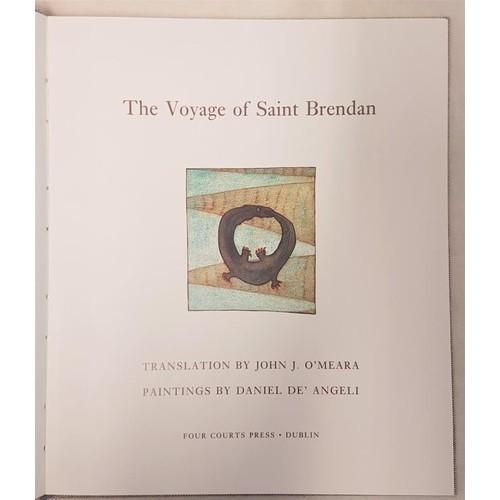 40 - <em>The Voyage of Saint Brendan</em>, special edition, signed in slipcase...