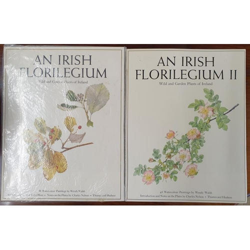 42 - <em>An Irish Florilegium</em> with 48 Watercolour Paintings by Wendy Walsh (un-opened) and an <em>Ir...