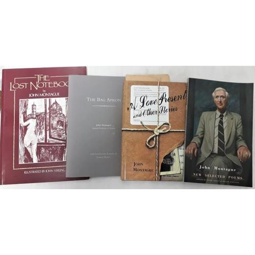 44 - John Montague: <em>The Bag Apron</em> with intro remarks by Seamus Heaney, 337/750; <em>A Love Prese...