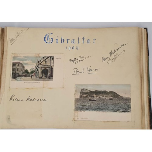 70 - Rare Victorian Irish family album relating to Irish Country mansions & castles, their house gues...
