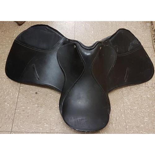 2 - Leather Saddle - Racing Size 17...