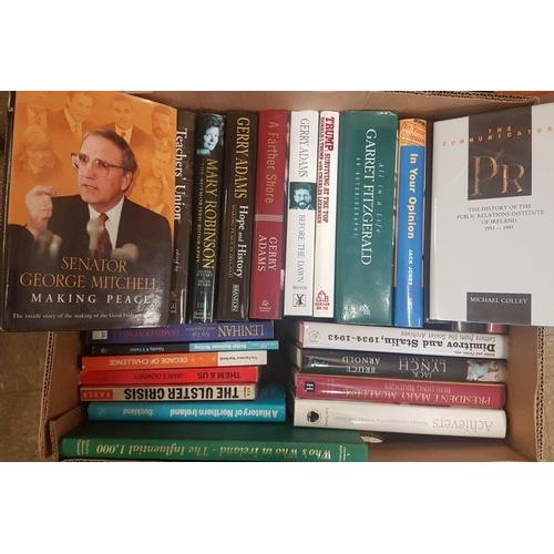 20 - Box of Irish Interest Books...