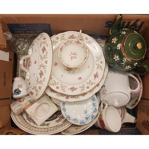30 - Box of Various Ceramics, etc....