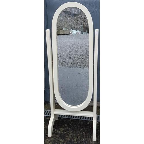 43 - Freestanding Dressing Room Mirror - 19 x 50.5ins...
