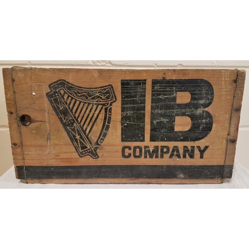20 - 'Irish Bottlers Co.,' Vintage wood 'Harp' lager crate...