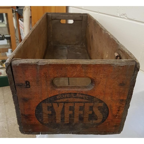 23 - Early Fyffes Bananas wooden shipping crate...
