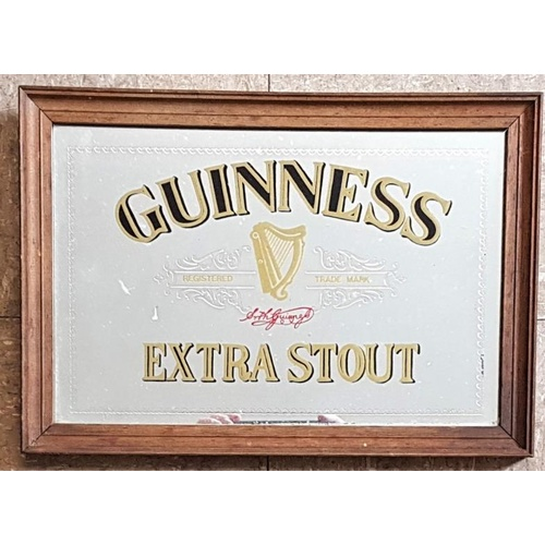 25 - Guinness Extra Stout Advertising Mirror c.13 x 9.5in...