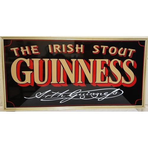 32 - 'The Irish Stout' Guinness advertising, c.25.5 x 13in...
