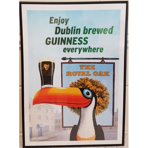 33 - 'Enjoy Dublin Brewed Guinness Everywhere', advertising sign, c.17 x 24in...