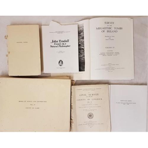 5 - <em>Megalithic Tombs of Ireland</em> Vol. 3, Galway etc & <em>Wadding Papers</em> by Jennings &...