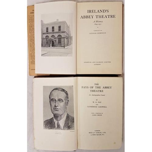 16 - Lennox Robinson. <em>Ireland's Abbey Theatre a History</em> 1899-1951 W.G. Fay and Catherine Carswel...